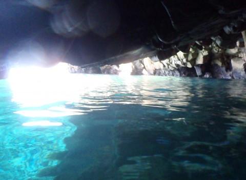 Exploration d'une grotte a Coco Beach, Nice