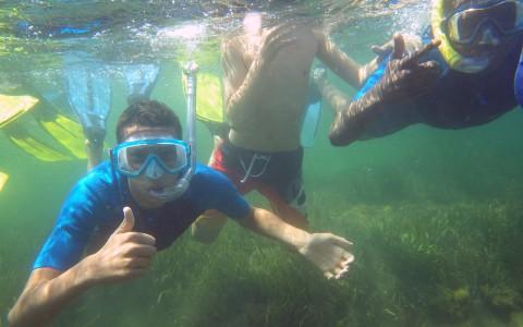 Balade aquatique en colonie de vacances
