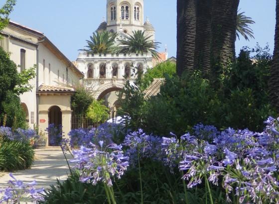 Visite du monastère de Saint Honorat